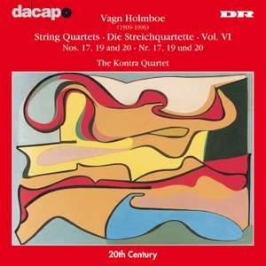 Holmboe: String Quartets Nos. 17, 19 & 20