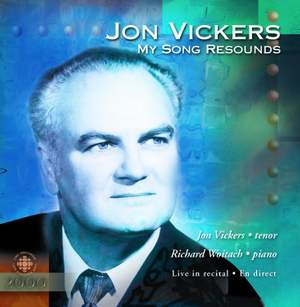 JON VICKERS IN RECITAL 1974