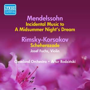Mendelssohn: Incidental Music to A Midsummer Night's Dream