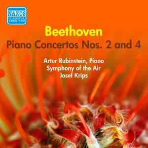 Beethoven: Piano Concertos Nos. 2 and 4