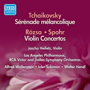 Rozsa & Spohr: Violin Concertos