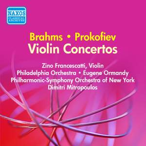 Brahms and Prokofiev: Violin Concertos