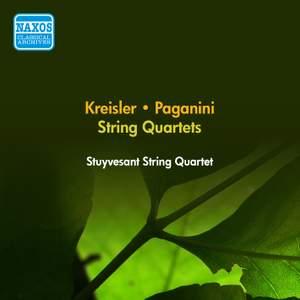 Kreisler & Paganini: String Quartets