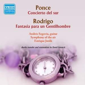 Ponce: Concierto del sur & Rodrigo: Fantasia para un gentilhombre