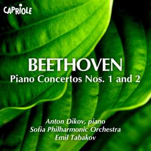Beethoven: Piano Concertos Nos. 1 and 2 Product Image