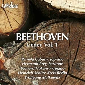 Beethoven: Lieder, Vol. 1