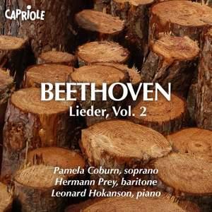 Beethoven: Lieder, Vol. 2