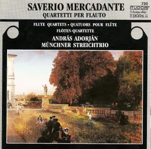 Mercadante, S.: Flute Quartets in A Minor / C Major / E Minor / A Major