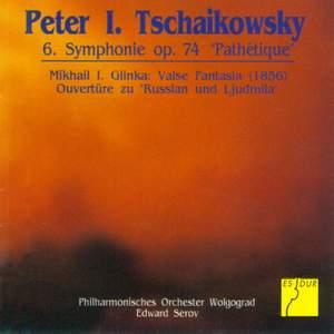 Tchaikovsky: Symphony No. 6 & Glinka: Valse Fantasia