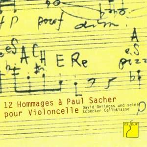 12 Hommages à Paul Sacher pour Violoncelle