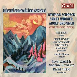 Orchestral Masterworks from Switzerland