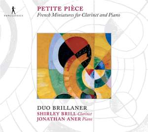 Petite Piece: French Miniatures for Clarinet and Piano