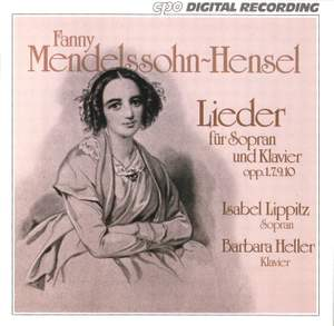 Fanny Mendelssohn-Hensel: Lieder Product Image
