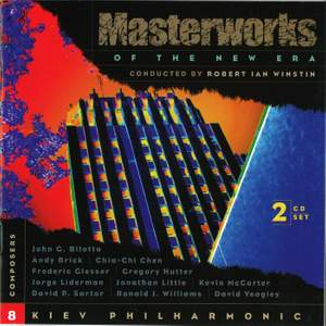MASTERWORKS OF THE NEW ERA, Vol. 8: McCarter, Hutter, Yeagley, Glesser, Sartor, and others Product Image