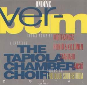 VERBUM: An Anthology of Choral Works by Kortekangas, Saariaho, Lansio, Heinio and Kyllonen
