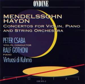 Mendelssohn & Haydn: Concertos for Violin and Piano