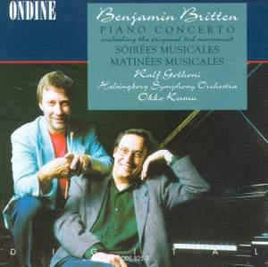 Benjamin Britten: Piano Concerto