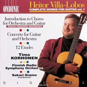 Villa-Lobos: Complete Works for Guitar, Vol. 1