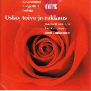 Vocal Recital: Hynninen, Jorma / Ruuttunen, Esa / Tiilikainen, Sauli - KOKKONEN, J. / DVORAK, A. / PYLKKANEN, T. / TIKKA, K. / PIIPARINEN, M. Product Image
