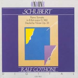 SCHUBERT, F.: Piano Sonata No. 21 / 16 German Dances (Gothoni)
