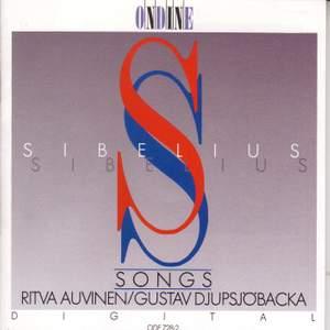 SIBELIUS, J.: Vocal Music (Auvinen, Djupsjobacka)