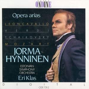 Opera Arias (Baritone) - Hynninen, Jorma Product Image