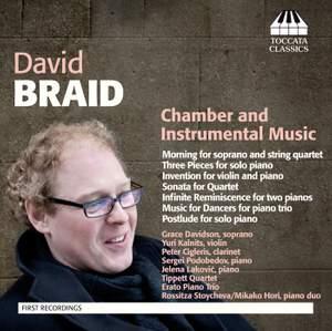 David Braid: Chamber & Instrumental Product Image