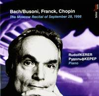 The Moscow Recital of September 28, 1998
