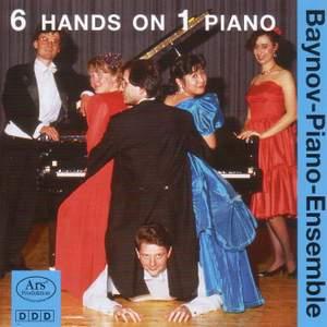 Piano Ensembles - BOUTRY, R. / HIRTLER, F. / VLADIGEROV, P. / WANEK, F. / BACH, W.F.E. (Baynov Piano Ensemble) (6 Hands on 1 Piano, Vol. 1)