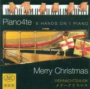 CHRISTMAS MUSIC ON 1 PIANO 6 HANDS (Piano4te)