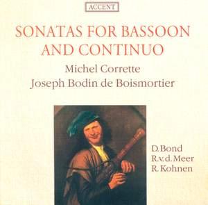 Boismortier & Michel Corrette: Sonatas for Bassoon and Continuo Product Image