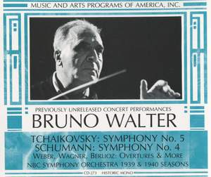 Bruno Walter conducts Tchaikovsky, Berlioz, Schumann and more