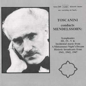 Toscanini conducts Mendelssohn