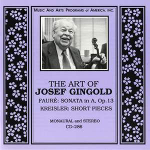 The Art of Josef Gingold