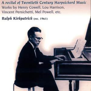 A Recital of Twentieth Century Harpsichord Music (1961)