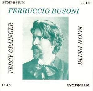 Busoni, Grainger & Petri (1922-1953)