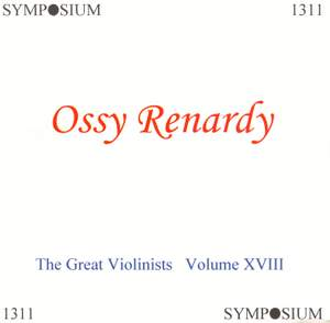 The Great Violinists, Vol. 18