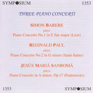 Three Piano Concerti (1930, 1946)