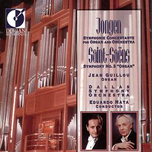 Jongen & Saint-Saens: Works for Organ and Orchestra