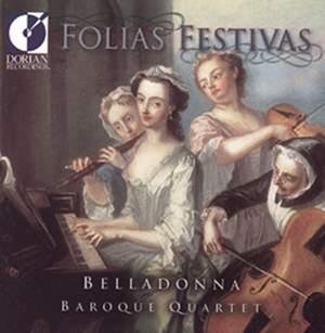 Chamber Music (Baroque) - Falconieri, A. / Merula, T. / Cabanilles, J. / Storace, B. / Castello, D. / Marais, M. (Folias Festivals) Product Image