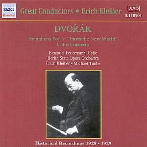 Dvorak: Symphony No. 9 & Cello Concerto