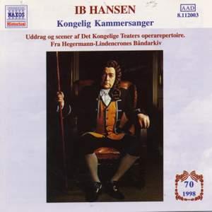 HANSEN, Ib: Kongelig Kammersanger (1959 - 1983) Product Image