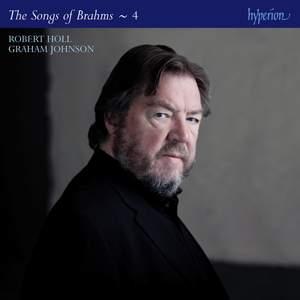 Brahms: The Complete Songs Volume 4 (Robert Holl)