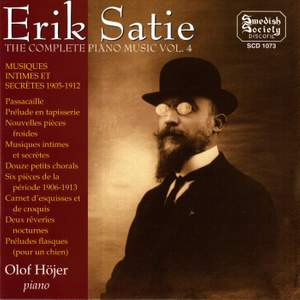 Satie: Complete Piano Music, Vol. 4