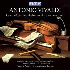 Vivaldi: Concertos for Two Violins, Strings and Continuo Product Image