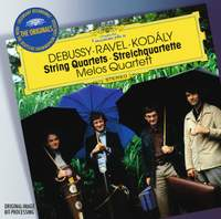 Melos Quartet play Debussy, Ravel & Kodaly