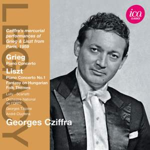 Georges Cziffra play Grieg & Liszt