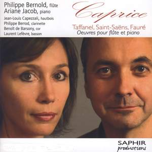 Caprice: Works for flute and piano