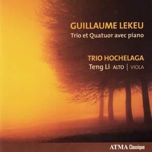 Lekeu: Piano Trio & Quartet Product Image