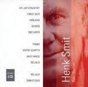 Henk Smit, Bass-Baritone Vol. 1